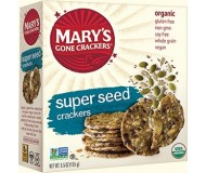 Mary's Gone Crackers, Super Seed, 5.5 Oz. Boxes (Pack of 12)