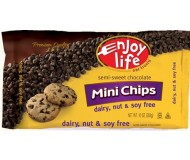 Enjoy Life Gluten Free Mini Chocolate Chips, 10 Oz Bag (12 Pack)