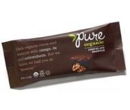 Pure Organic Chocolate Brownie Fruit & Nut Bar, 1.7 Oz. Bars ( Pack of 12)