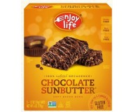 Enjoy Life GF Decadent Bars, Chocolate Sunbutter (6 Pack)