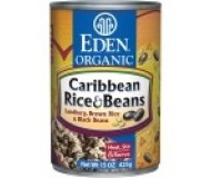 Eden Organic Carribean Rice & Black Beans