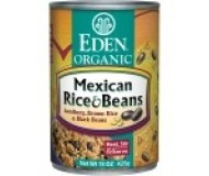 Eden Organic Mexican Rice & Black Beans
