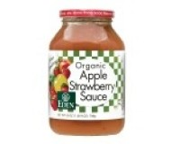 Eden Organic Apple Strawberry Sauce