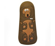 Jackson the Grizzly Bear Toy - Plush Cover + Inflatable Base