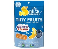 Little Duck Organics Tiny Fruit, Blueberry & Banana [6 Packs]