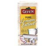 Gefen Pure Lemon Extract (Case of 12)