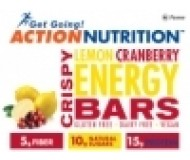 Action Nutrition Energy Bar: Crispy Lemon, 5 Pack