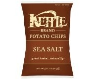 Kettle Foods Potato Chips, Sea Salt