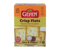 Gefen Gluten Free Crisp Flats, Salt & Pepper, 5.2 Oz. (Case of 12)