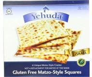 Yehudah Gluten Free Matzo Squares, 10.5 Oz (6 Boxes)