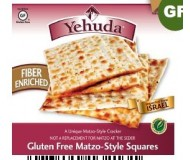 Yehuda Gluten Free Matzo Squares, High Fiber (Case of 12)