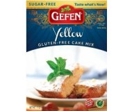 Gefen Gluten Free Yellow Cake Mix, Sugar Free, 12 Oz (Case of 12)