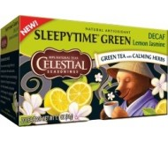 Sleepytime Decaf Lemon Jasmine Green Tea