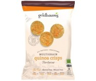 Goldbaum's Multigrain Quinoa Crisps, BBQ, Snack Bag (Case of 36)