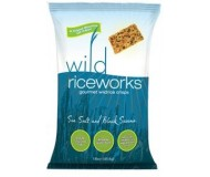 Whole Grain Gluten Free Riceworks Crisps Wild Rice, 2 Oz. (Case of 24)