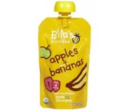 Ella's Kitchen Organic Baby Food - Apple & Banana, 3.5 Oz (6 Pouches)