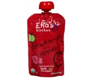 Ella's Kitchen Organic Baby Food - Strawberry & Apple, 3.5 Oz (6 Pouches)
