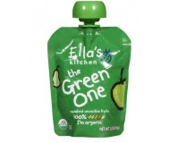 Ella's Kitchen Organic Smoothie Baby Food -The Green One, 2.5 Oz (6 Pouches)