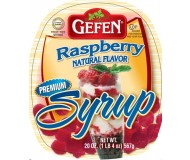 Gefen, Gluten Free Raspberry Syrup