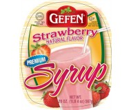 Gefen, Gluten Free Strawberry Syrup