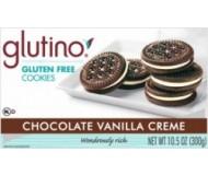 Gluten Free Chocolate Vanilla Crème Cookies