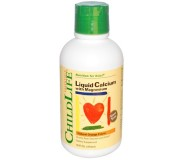 Childlife Liquid Calcium with Magnesium, Natural Orange