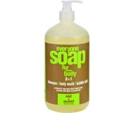 EO® Everyone™ Botanical 3-In-1 Mint & Coconut Soap, 32 Oz