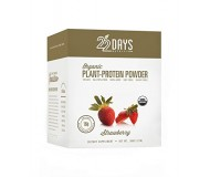 22 Days Nutrition Plant Protein Powder, Strawberry, .85 oz (Case of 12)