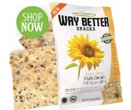 Way Better Snacks, Super Kosher Multigrain Tortilla Chips, snack size