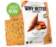 Way Better Snacks, Super Kosher Sweet Potato Tortilla Chips Snack Size