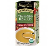 Imagine Organic Vegetable Broth, Low Sodium