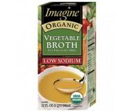 Imagine Organic Vegetable Broth, Low Sodium