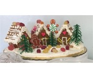 Mini Gingerbread House Kit - Gluten Free! - Makes 12 Houses