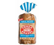 Three Bakers Gluten Free Whole Grain White Bread (Case of 6)