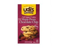 Udi's Gluten Free Maple Pecan Chocolate Chip Cookies, 9.2 Oz