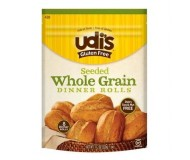 Udi's Gluten Free Whole Grain Seeded Dinner Rolls, 6 Rolls Per Pack