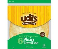 Udi's Gluten Free Large Tortillas (Case of 10)