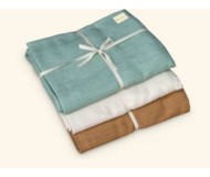 Wai Lana, Cozy Cotton Yoga Blanket, Natural