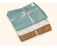 Wai Lana, Cozy Cotton Yoga Blanket, Tan