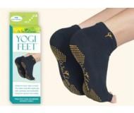 Wai Lana, Yoga Props & Tools, Black & Gold Yogi Feet