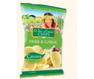 Wai Lana Snacks, Herb & Garlic Chips (Case of 12)