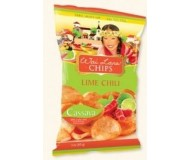 Wai Lana Snacks, Lime Chili Chips (Case of 12)