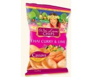 Wai Lana Snacks, Thai Curry & Lime Chips (Case of 12)