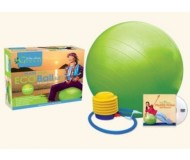 Wai Lana Green, Pilates Yoga Green Eco Ball (Medium) & DVD