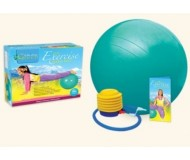 Wai Lana Green, Pilates Yoga Blue Eco Ball (Small) & DVD