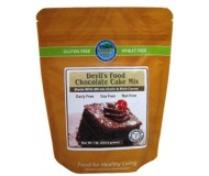 Authentic Foods Gluten Free Devils Food Chocolate Cake Mix, 1 lb