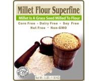 Authentic Foods Superfine Millet Flour, 3 lbs