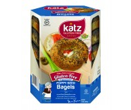 Katz Gluten Free PoppySeed Bagels (Case of 6)