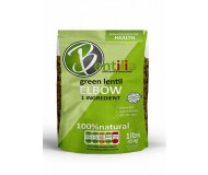 Bentilia Green Lentil Elbow Macaroni, 1 lb bag [5 Pack]