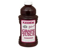 Kedem 100% Pure Kosher Blush Grape Juice, 64 oz [Case of 8]